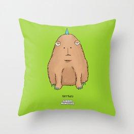 Furrrybara Throw Pillow