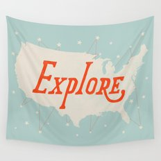 Explore Wall Tapestry