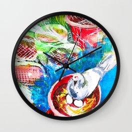 Pigeon Lakshmi #02 Wall Clock