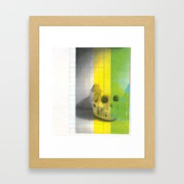 Skull III Framed Art Print