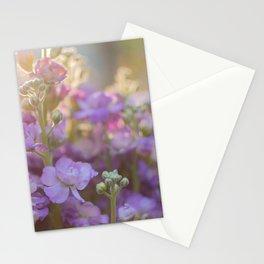 Sunlit Purple Stock Stationery Cards