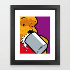 The secret Life of Heroes - Winnie Beer Framed Art Print