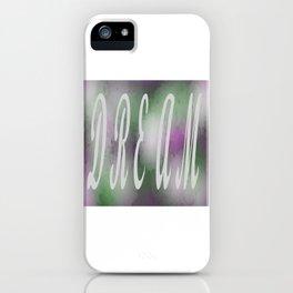 Dream Purple iPhone Case