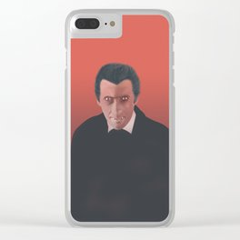DracuLee Clear iPhone Case