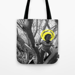 CareFreeBlackChild Tote Bag