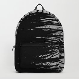 Concrete Fringe Black on Side Backpack