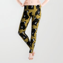 Brindle French Bulldog Leggings