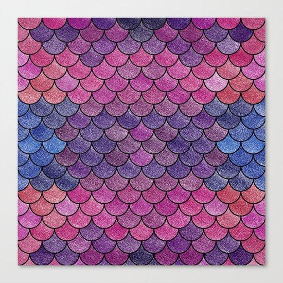 Lovely Pattern V (Glitter Version) Canvas Print