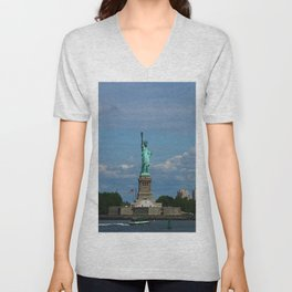 Lady Liberty Unisex V-Neck