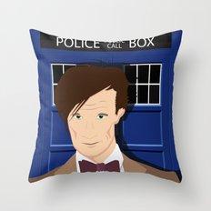 Doctor Who - Matt Smith Throw Pillow