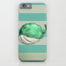 Tubby Sketch Whale iPhone 6s Slim Case