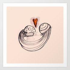 Love is in the air - 2 Art Print