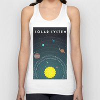 solar system Tank Tops featuring Solar System by scarriebarrie