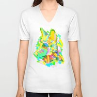 howl V-neck T-shirts featuring Howl by Nedblr