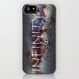 INFINITY STARS IN THE MILKY WAY ∞ iPhone Case