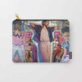 Warped Reflections Carry-All Pouch