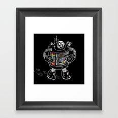 Panda Music Jaeger Framed Art Print