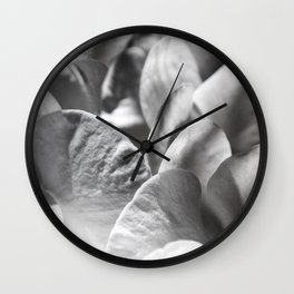 Petal Profusion Wall Clock