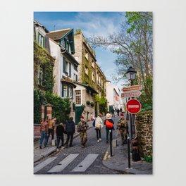 Montmartre II Canvas Print