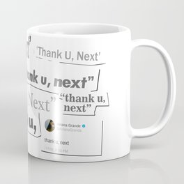 Thank you next - galaxy lips Coffee Mug