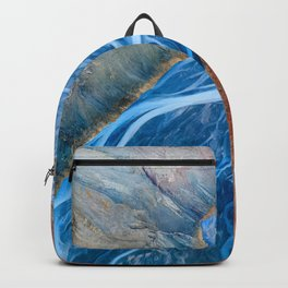 Luxury Marble Abstract - River  Backpack