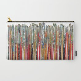 Twenty Years of Paintbrushes Carry-All Pouch