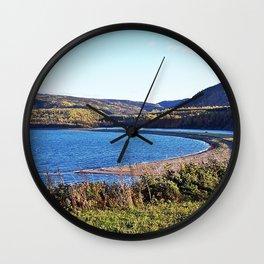 Riviere Madelaine Sandbar Wall Clock