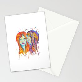 chantal et miriam Stationery Cards