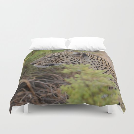Leopard in the Wild Duvet Cover