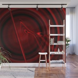 Blood Cell (Red series #3) Wall Mural