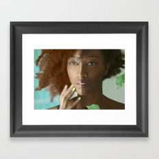 Don't Tell Her She's Pretty For A Darkskin Girl  Framed Art Print