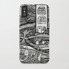 Day of the Dead iPhone X Slim Case