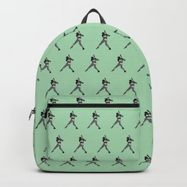 #45 Baseball Player Backpack