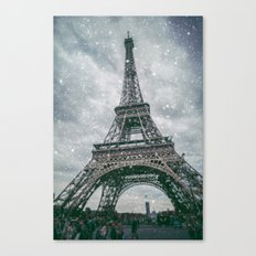 A bad day in Paris.... Canvas Print