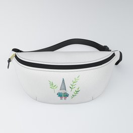 Summer Gnome - Green Leaves Fanny Pack