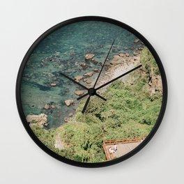Port Life: Jeju Island Wall Clock
