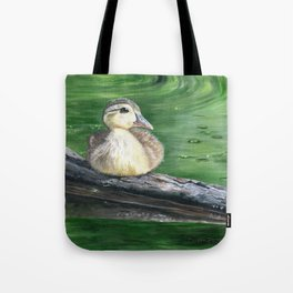 The Wood Duckling by Teresa Thompson Tote Bag