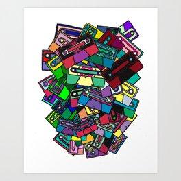 Music Binds Souls Art Print