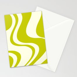 Dazed and Confused - Chartreuse Stationery Cards