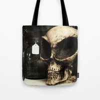 antique Tote Bags featuring antique by jennifersupertramp