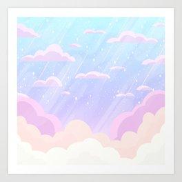 Pastel Heaven Art Print