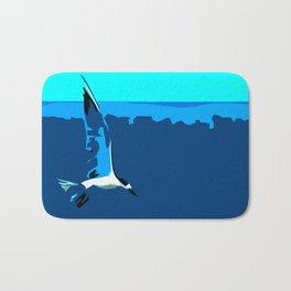 Tropical Tern (Sandwich Tern) - Seychelles Bath Mat
