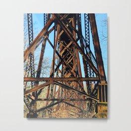 underpass Metal Print