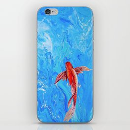 The Little Fish iPhone Skin