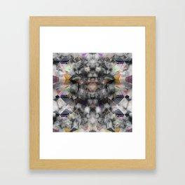 Bricolage of the Present(s) II Framed Art Print
