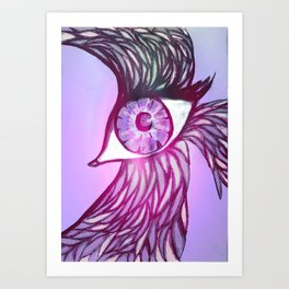Eye Bird Art Print