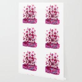 Floral Charm No.1D by Kathy Morton Stanion Wallpaper