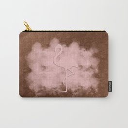 Pink Flamingo Cloud Carry-All Pouch
