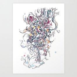 Burdens Art Print