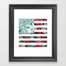 US Flowers Framed Art Print